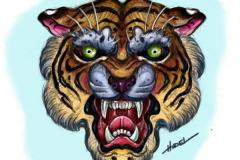 tiger-paint